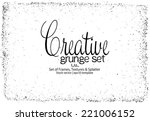 design template.abstract grunge ... | Shutterstock .eps vector #221006152
