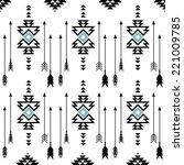 american indian ethnic... | Shutterstock .eps vector #221009785