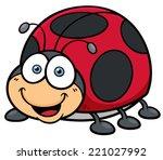 vector illustration of cartoon... | Shutterstock .eps vector #221027992