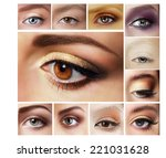 Beauty Set Of Eyeshadow....