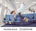 Flying  Girl In An Airplane....