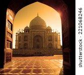 taj mahal  agra  india | Shutterstock . vector #221068246