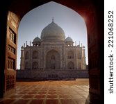 Small photo of Taj Mahal, Agra, India