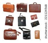 briefcase | Shutterstock . vector #221124568
