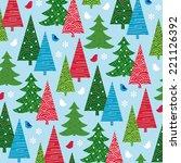 trees | Shutterstock .eps vector #221126392