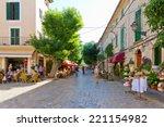 center of valldemossa  mallorca | Shutterstock . vector #221154982