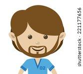 people design over white... | Shutterstock .eps vector #221177656