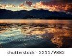 Lake Como  Italy. Panoramic...