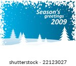winter background | Shutterstock .eps vector #22123027