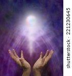 spiritual healing orb    ... | Shutterstock . vector #221230645