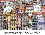 porto  portugal cityscape... | Shutterstock . vector #221237926