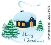 christmas in vector illustration | Shutterstock .eps vector #22125478