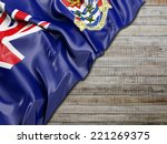 cayman islands flag with... | Shutterstock . vector #221269375