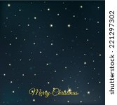 christmas background | Shutterstock .eps vector #221297302