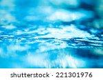 bokeh light background in the... | Shutterstock . vector #221301976