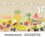 horizontal seamless pattern set ...   Shutterstock .eps vector #221320732