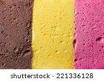 Colourful Neapolitan Ice Cream...