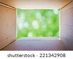 thinking outside the box ... | Shutterstock . vector #221342908