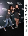Small photo of LOS ANGELES - OCT 3: Bailee Madison, Caitlin Carver at the Knott's Scary Farm Celebrity VIP Opening at Knott's Berry Farm on October 3, 2014 in Buena Park, CA