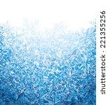 blue winter background. eps8.... | Shutterstock .eps vector #221355256