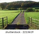 Open Gate   Cattle Grid In...