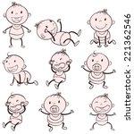 illustration of different... | Shutterstock . vector #221362546