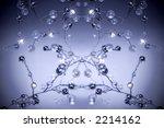 crystal ornament pattern | Shutterstock . vector #2214162
