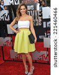 Small photo of LOS ANGELES, CA - APRIL 13, 2014: Jessica Alba at the 2014 MTV Movie Awards at the Nokia Theatre LA Live.