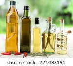 Different Sorts Of Cooking Oil...
