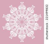 decorative element. vector... | Shutterstock .eps vector #221499832