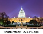 Stock photo the united states capitol building in washington dc usa 221548588