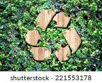 Eco Concept  Wood Texture...