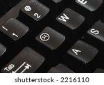 close up of a computer keyboard ...   Shutterstock . vector #2216110