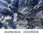 ice flowers and frozen window...   Shutterstock . vector #221630236