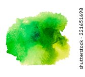 abstract watercolor stain... | Shutterstock .eps vector #221651698