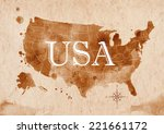 Map Of United States In Old...