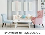 living room interior   classic... | Shutterstock . vector #221700772
