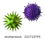 3d abstract microbiological... | Shutterstock . vector #221713795