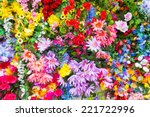 Various Color Flower Backgroun...
