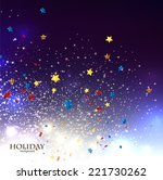 abstract christmas background... | Shutterstock .eps vector #221730262
