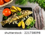 Fried Trout With Almonds  Dill...
