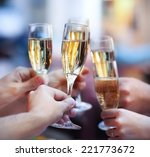 celebration. people holding... | Shutterstock . vector #221773672