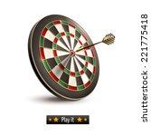 Darts Board Goal Target...