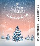 Christmas Greeting Card With...
