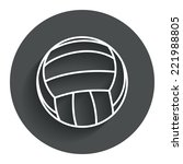 volleyball sign icon. beach...