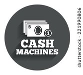 cash and coin machines or atm...