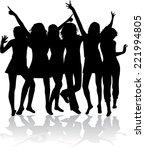 Dancing Silhouette   ...