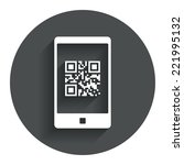 Qr Code Sign Icon. Scan Code I...