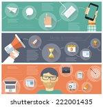 digital communications. vector...