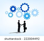 business deal succesful | Shutterstock . vector #222004492